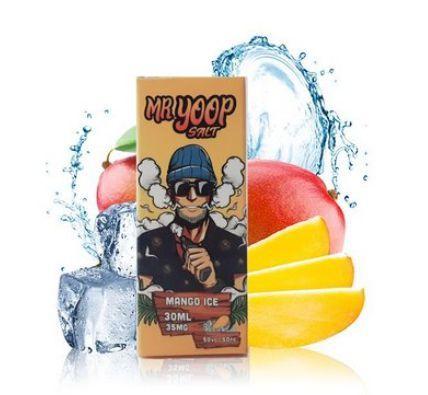 Líquido Yoop Vapor Salt - Mr. Yoop - Mango Ice