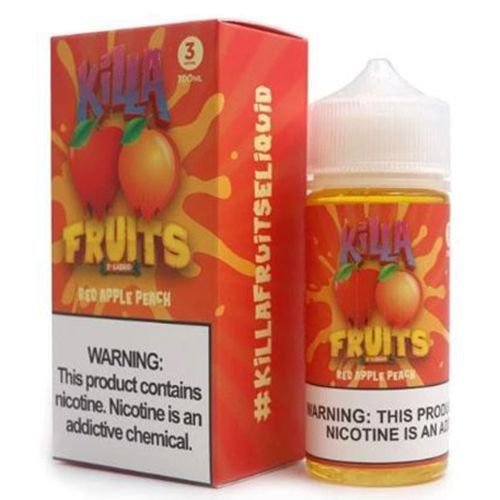 Líquido Killa Fruits - Red Apple Peach Ice