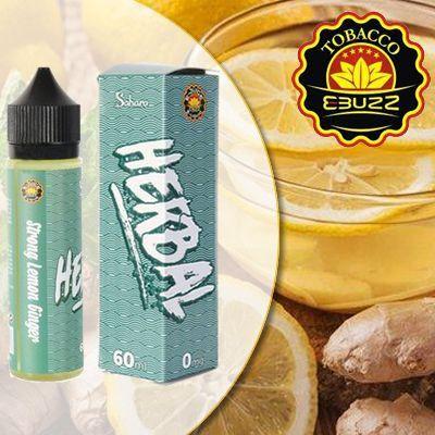 Líquido Sahara - Herbal - Strong Lemon Ginger