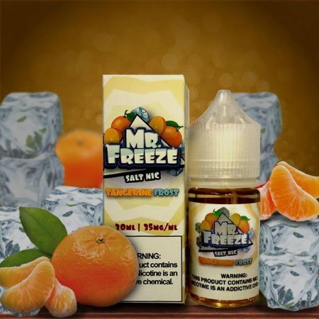 Líquido Mr. Freeze Salt - Tangerine Frost