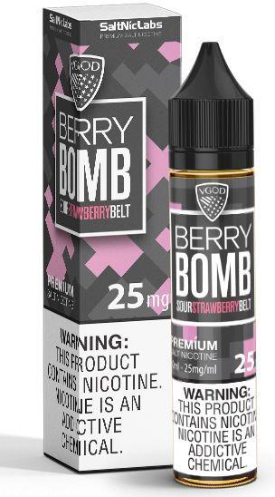 Líquido VGod Salt - Berry Bomb