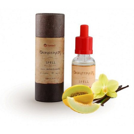 Líquido Sorcerer Spell Joyetech - Melão e Vanilla