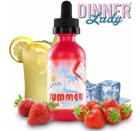 Líquido Strawberry Bikini - Summer Holidays - DINNER LADY