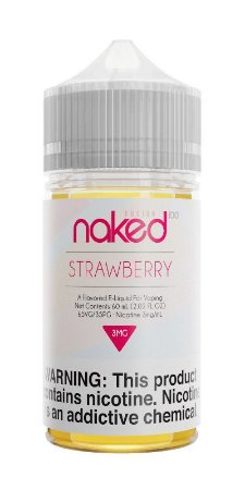 Líquido Naked 100 - Yummy Strawberry