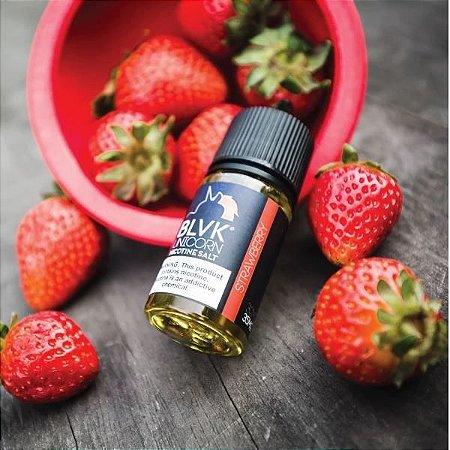 Líquido Blvk Unicorn Salt - Strawberry Cream