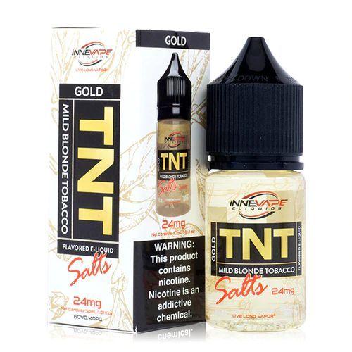 Líquido Innevape Salt - TNT Gold Tobacco Menthol