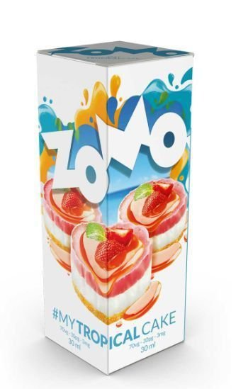 Líquido Zomo - My Tropical Cake
