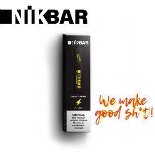Pod descartável NikBar - Energy Drink