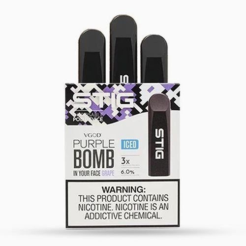 Pod device STIG Purple Bomb ICE - VGOD