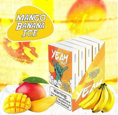 Yeah Pods De Reposição Mango Banana Ice - Compatíveis com Juul - Yeah