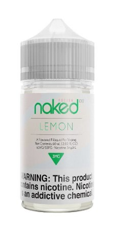 Líquido Naked 100 - Fusion - Lemon