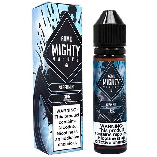Líquido Super Mint - MIGHTY VAPORS