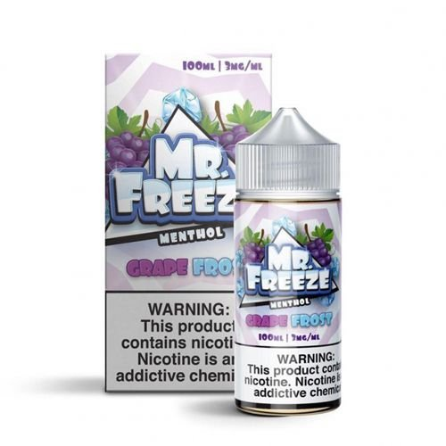 Líquido Grape Frost - Mr. Freeze