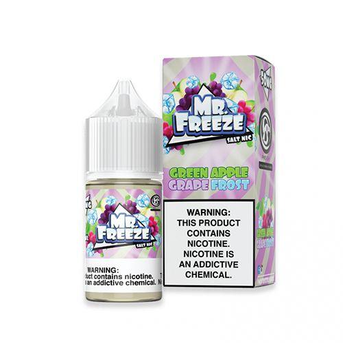 Líquido Mr. Freeze Salt - Green Apple Grape Frost