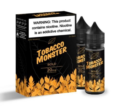 Líquido Salt Nicotine - BOLD - Tobacco Monster