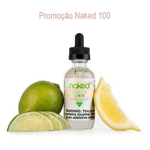 Promoção Líquido Naked 100 - Green Lemon