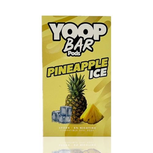 Yoop Bar Pineapple Ice - Compatíveis com Juul - Yoop Vapor
