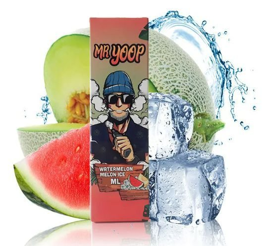 Líquido Yoop Vapor Salt - Mr. Yoop - Watermelon Melon Ice