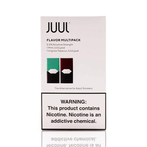 Pod Juul - Flavor Multipack (Mint e Virginia Tobacco)
