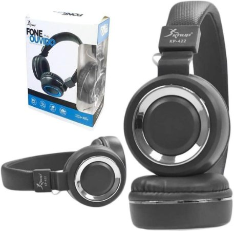 Fone de Ouvido Headset KP-422