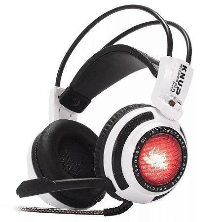 Fone De Ouvido Headset Knup Kp 400