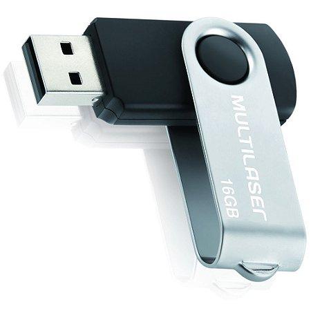 Pen Drive Multilaser Twist 16GB