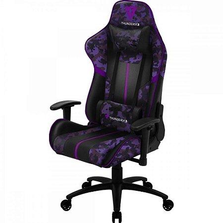 Cadeira Gamer BC3 THUNDERX3 Violeta