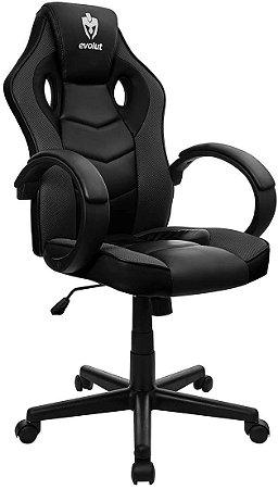 Cadeira Evolut Gamer EG-901 Hunter Preto