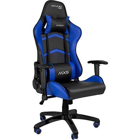 Cadeira Gamer MX5 Azul