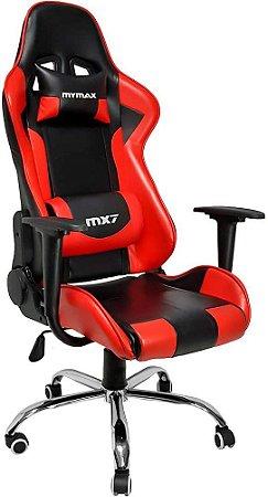 Cadeira Gamer Mx7 Vermelho