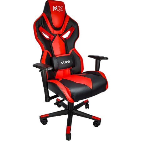 Cadeira Gamer Mymax MX9 Vermelha