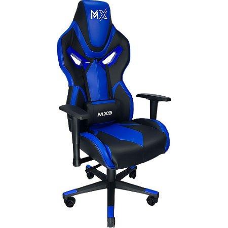 Cadeira Gamer Mymax MX9 Azul