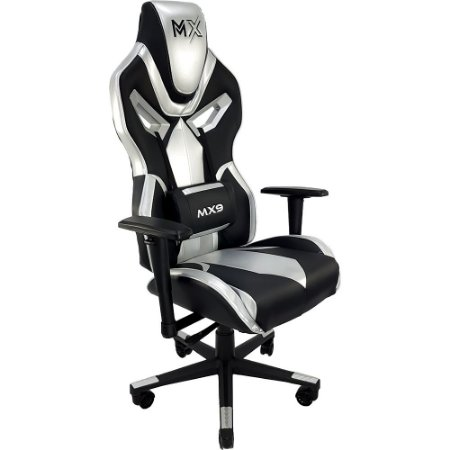 Cadeira Gamer Mymax MX9 Prata
