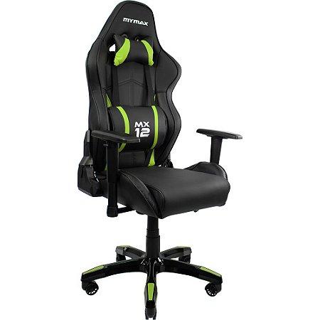 Cadeira Gamer Mymax MX12 Verde