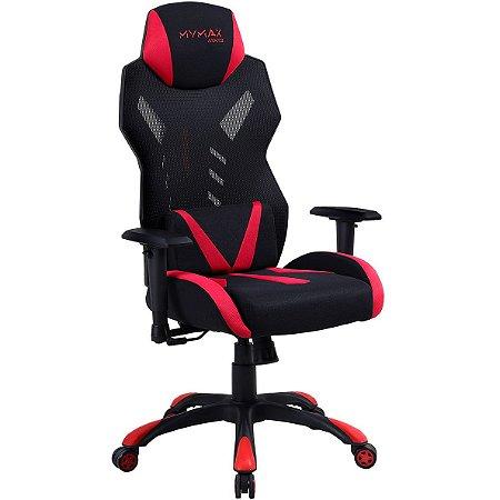 Cadeira Gamer Mymax MX13 Vermelha