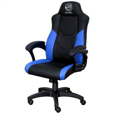 CADEIRA GAMER MAD RACER V6 Azul