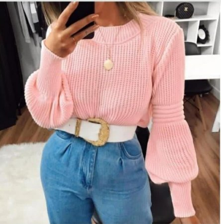 Blusa Tricot Maria Clara
