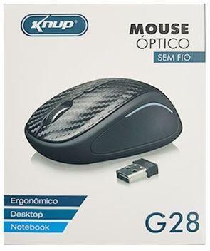 Mouse sem fio Knup G28