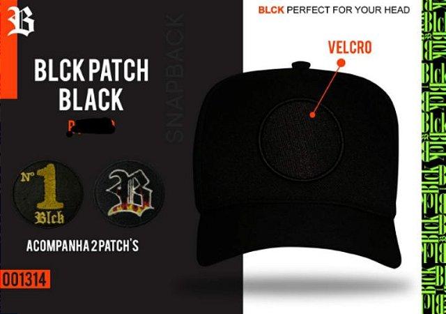 Boné Patch Black
