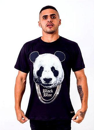 Camiseta Black Blue bear tamanho M