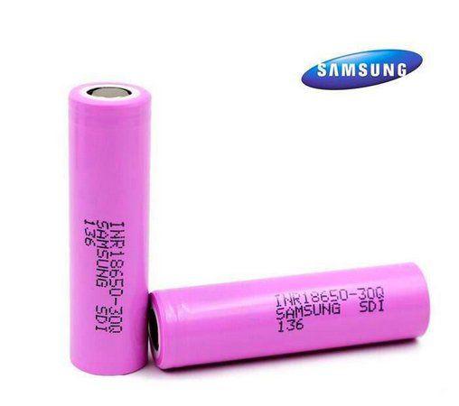 *UNIDADE* Bateria 18650 Samsung 30Q Li-Ion INR 18650 3.6V 3000mAh