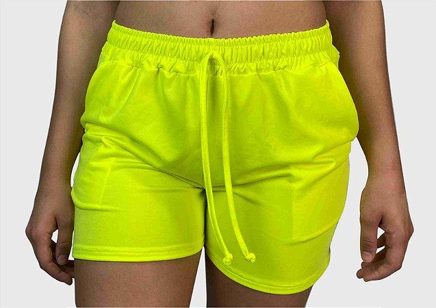 Short Amarelo Neon
