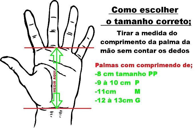 Hand Grip Couro Preto