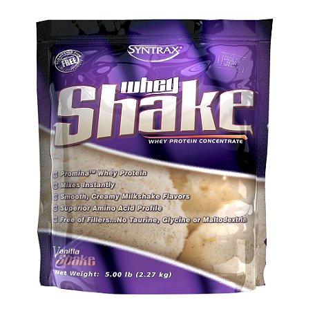 WHEY SHAKE VANILLA - 5Lb (2.270g)