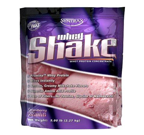 WHEY SHAKE SYNTRAX STRAWBERRY - 5Lb (2.270g)