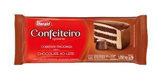 CHOCOLATE CONF.AO LEITE FRACIONADA H.1,050KG R.102073