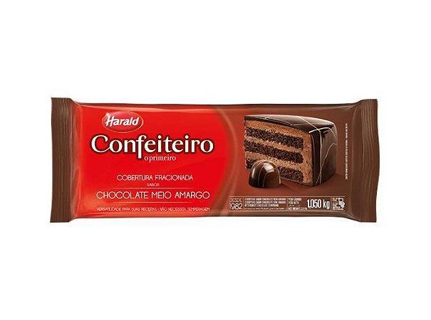 CHOCOLATE CONFEITEIRO MEIO AMARGO FRACIONADA H.1,050KG R.102071