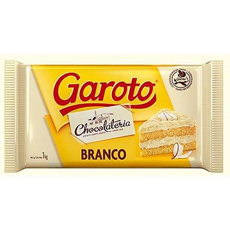 CHOCOLATE GAROTO BRANCO 1KG