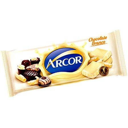 CHOCOLATE ARCOR BRANCO 1,05KG (NOVO) R.15017
