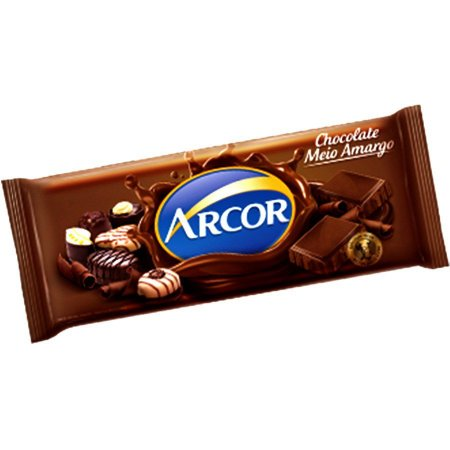 CHOCOLATE ARCOR MEIO AMARGO 1,05KG (NOVO) R.15016